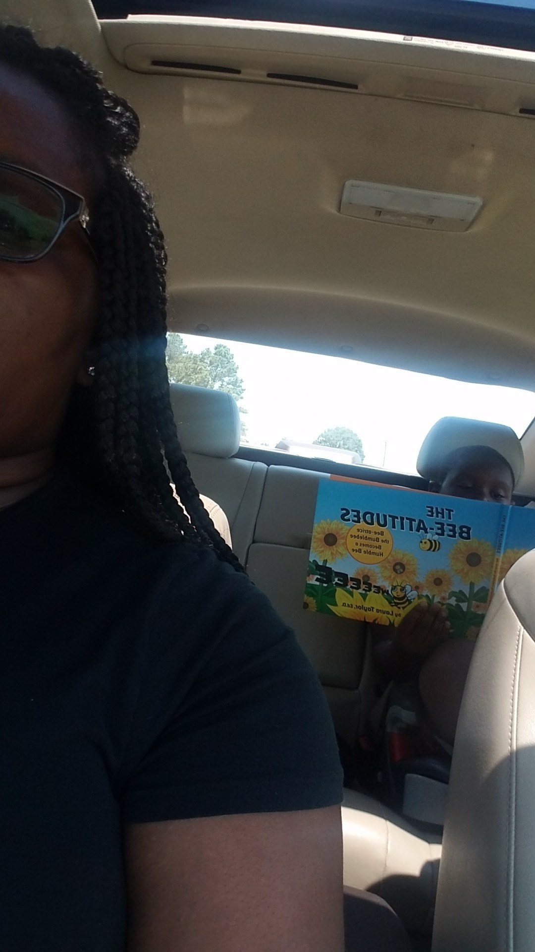 Reading THE BEE-ATITUDES in The Car