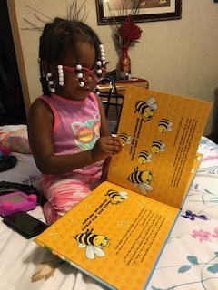 Kaliyah reading THE BEE-ATITUDES.